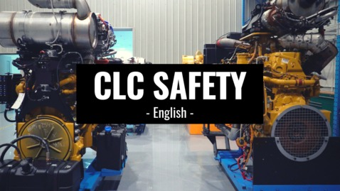 Thumbnail for entry CLC Safety - English