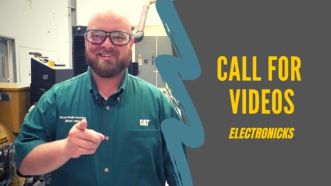 Thumbnail for entry A Call for Videos (ElectroNicks)