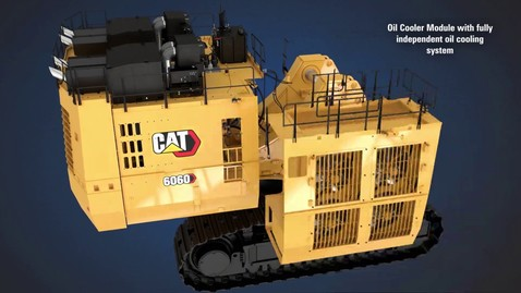 Thumbnail for entry Cat 6060 Hydraulic Mining Shovel Assembly Animation
