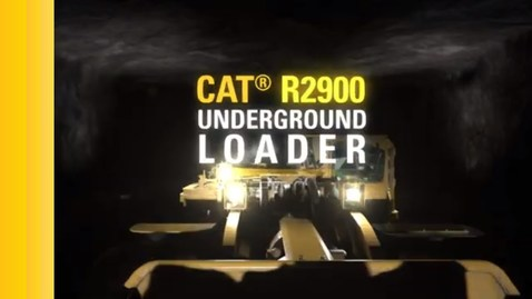 Thumbnail for entry Cat® R2900 Hard Rock Underground Loader