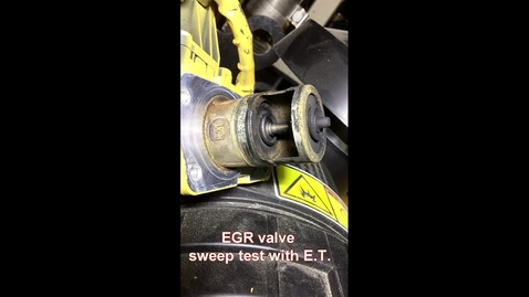 Thumbnail for entry EGR Valve and EBPV Sweep Test with ET