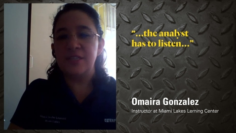 Thumbnail for entry Instructor Advice - Omaira Gonzalez