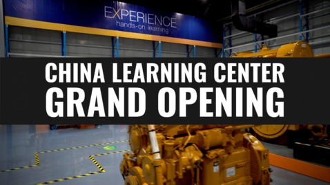 Thumbnail for entry China Learning Center Grand Opening