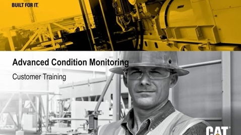 Thumbnail for entry Advanced Condition Monitoring Customer Training