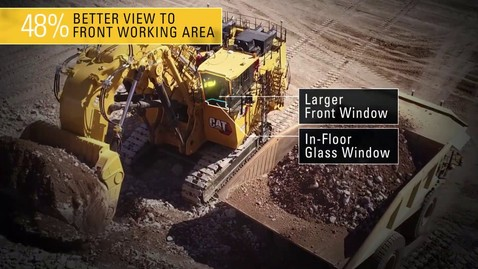 Thumbnail for entry Cat 6060 Operator Cab - Keep Operators Safe, Comfortable, and In Control