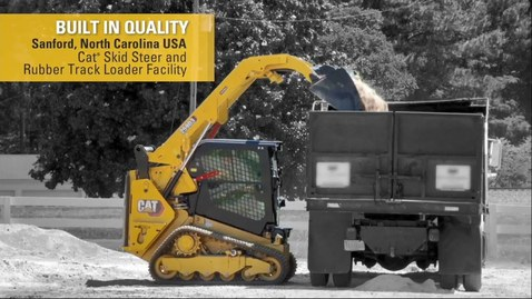 Thumbnail for entry Cat® Skid Steer and Compact Track Loader Factory Assembly Line