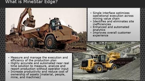 Thumbnail for entry MineStar Edge Setup