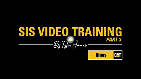 Thumbnail for entry SIS 2.0 Video Training - part 3