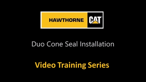 Thumbnail for entry Duo Cone Seal Installation - Commonly Overlooked Issues.