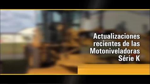 Thumbnail for entry Actualización Motoniveladoras Cat®  Serie K