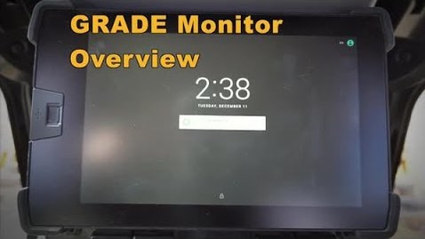 Thumbnail for entry Cat® Next Gen Dozer GRADE Monitor: Overview