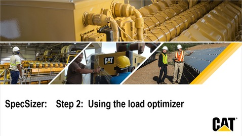 Thumbnail for entry SpecSizer:   Step 2 - Load optimizer