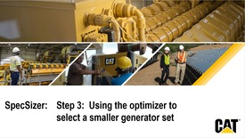 Thumbnail for entry SpecSizer:  Step 3 - Using the optimizer to select a smaller generator set