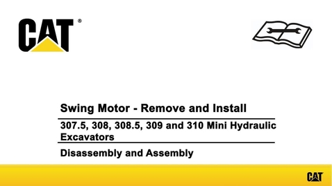 Cat® 309 High Flow Mini Excavator Mowing and Mulching with