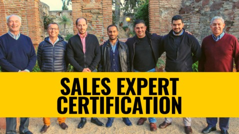 Thumbnail for entry Sales Expert Certification Event
