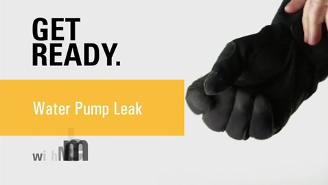 Thumbnail for entry Water Pump Leak with Nick Rummel