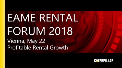 Thumbnail for entry EAME Rental Forum 2018 - Highlight Video 1