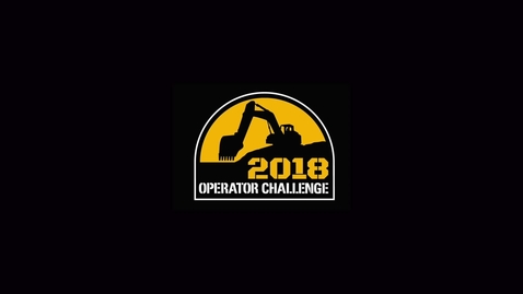 Thumbnail for entry Cat Operator Challenge 2018 at MDLC