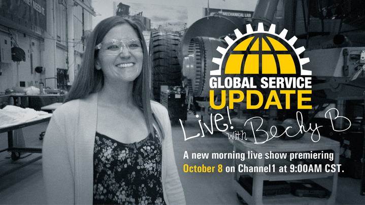 Thumbnail for channel Global Service Update