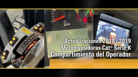 Thumbnail for entry Actualización 2018/2019 - Motoniveladoras Cat® Serie K  - Cabina