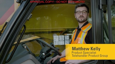 Thumbnail for entry Cat TL1255D Telehandler - Multi-Function Display Maintenance & Service