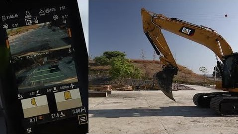 Thumbnail for entry Next Generation Excavators: Grade Accuracy Check without Laser Level