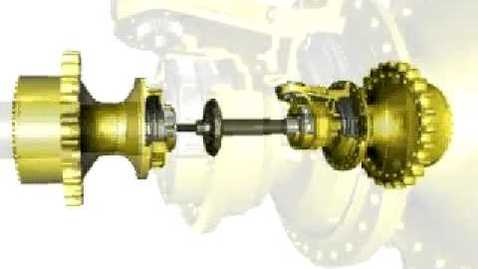 Thumbnail for entry Differential Steering   Cat® D6R through D9R Dozer Steering System