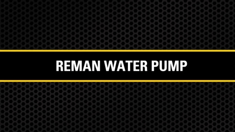 Thumbnail for entry Reman Water Pump