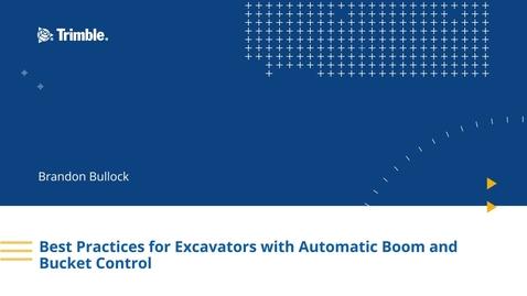 Thumbnail for entry Earthworks v1.1 Best Practices: Operator User Interface