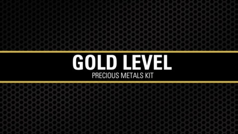Thumbnail for entry Gold Level Precious Metals Kit