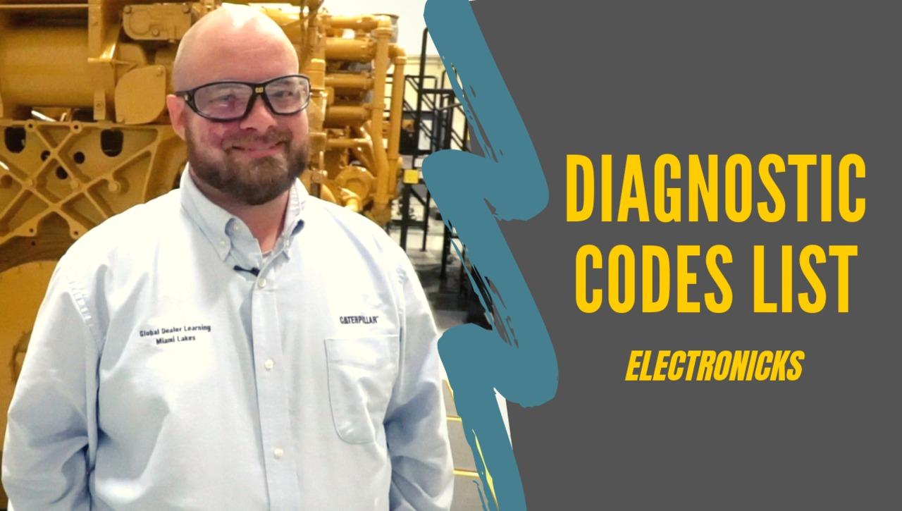 Diagnostic Codes List