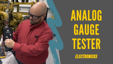 Thumbnail for entry Analog Gauge Tester (ElectroNicks)