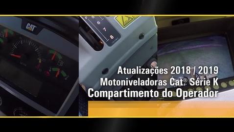 Thumbnail for entry Atualização 2018/2019 - Motoniveladoras Cat® Serie K  - Cabine