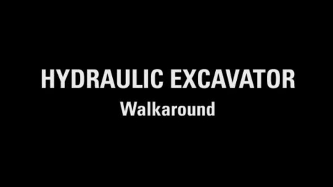 Thumbnail for entry Cat® Simulators Hydraulic Excavator Walkaround Training Exercise