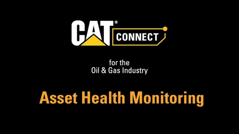 Thumbnail for entry Asset Health Monitoring