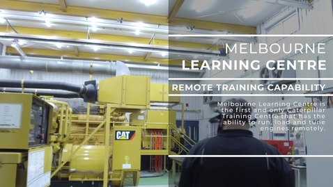 Thumbnail for entry Remote Gas Engine Tuning at the Power Systems Training Centre -  Melbourne Learning Centre