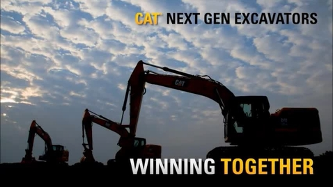 Thumbnail for entry Cat Next Gen Excavators Winning Together