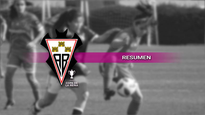 Resumen del partido Madrid CFF - Fundación Albacete correspondiente a la Copa Reina.