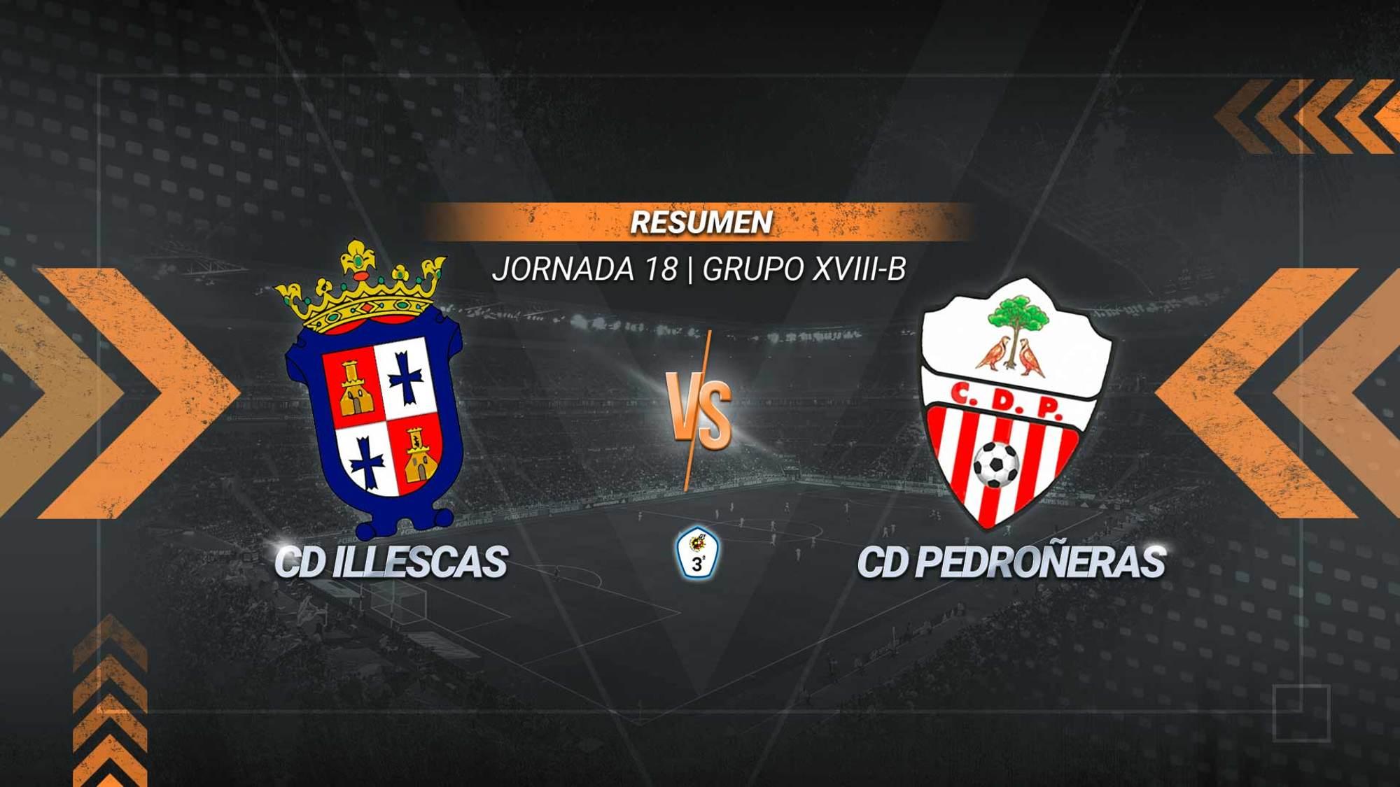 Owen y Pablo Jiménez rompen la sequía del Illescas, que no ganaba desde el 20 de diciembre, y firman la primera victoria con Javier Meléndez al frente del equipo. El Pedroñeras cae a la última posición de la tabla.