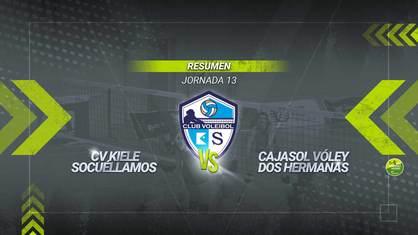 El Kiele Socuéllamos remonta al Cajasol Vóley y suma el octavo triunfo de la temporada. Las socuellaminas voltearon un marcador en contra de dos sets a uno.