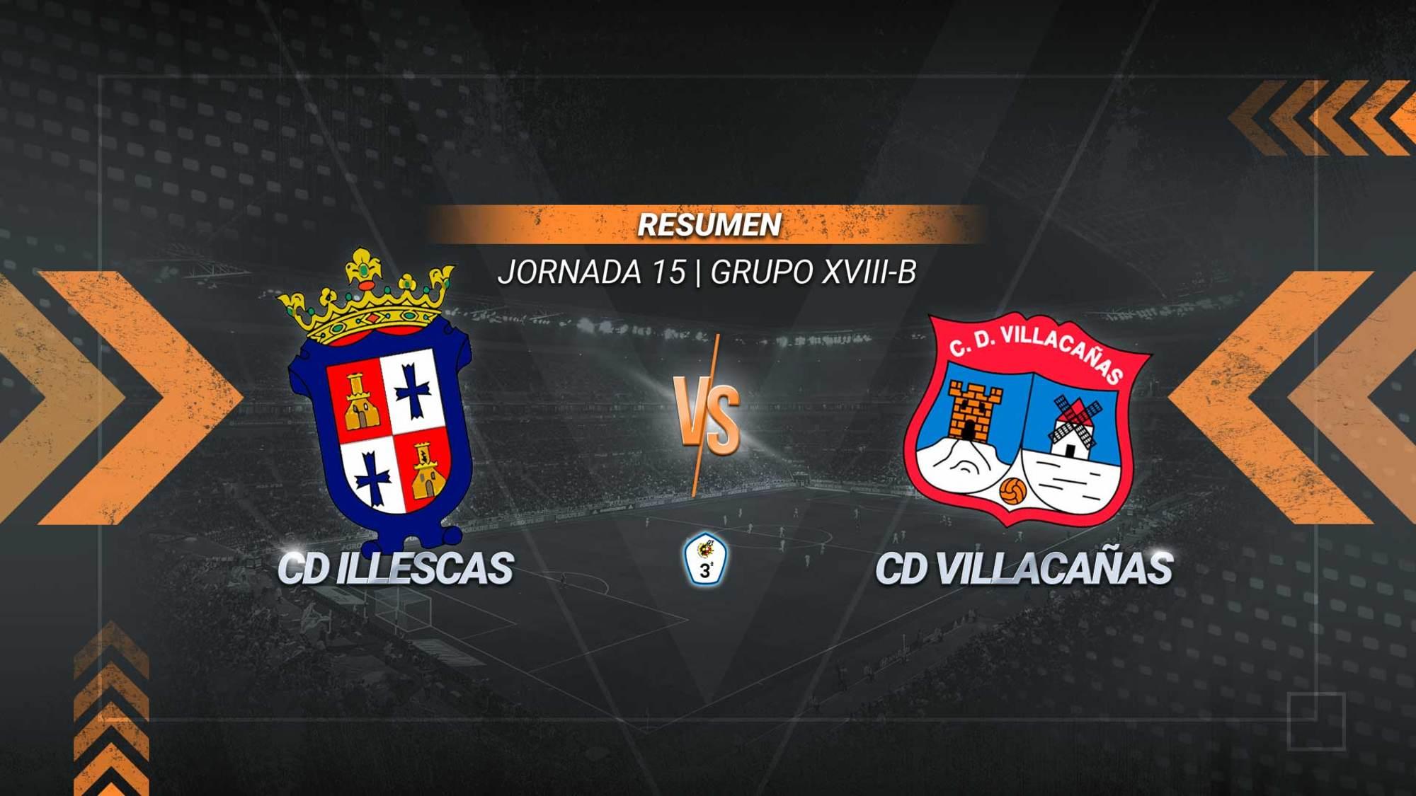 Los palos privan al Illescas de sumar un triunfo. Se adelantaron los locales y empató el Villacañas, que pierde la oportunidad de entrar en play-off.