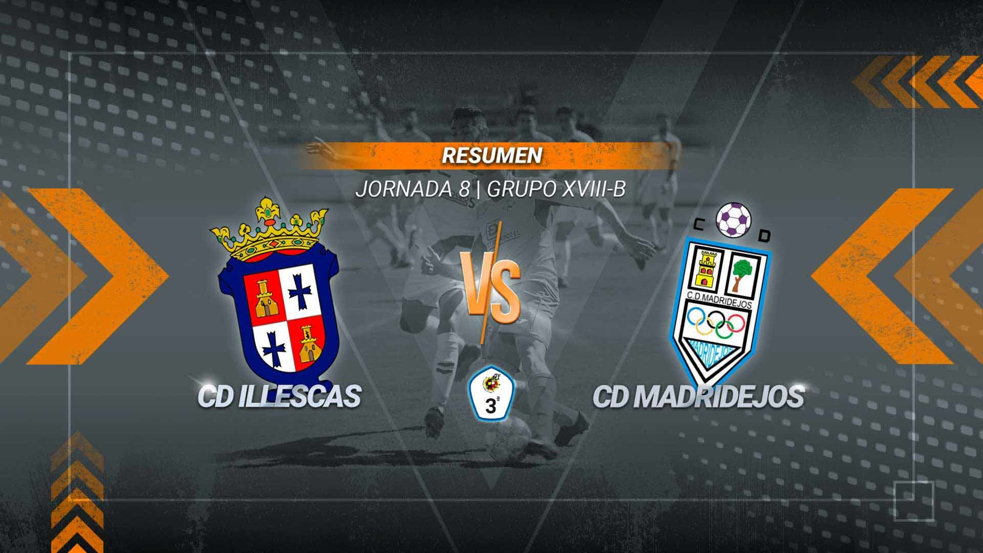 Reparto de puntos entre el Illescas y un Madridejos que sigue sin conocer la victoria. Carlos Jiménez abrió el marcador con un espectacular gol desde fuera del área y Bangou firmó la igualada al aprovechar el rechace de un penalti.