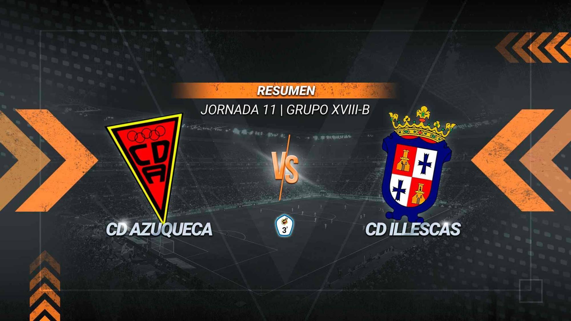 Un gol de Molina rescata un empate para el Illescas en el San Miguel. Diez minutos antes se adelantó el Azuqueca con un tanto de Aitor Rubio. Los azudenses suman once puntos y los illescanos catorce.