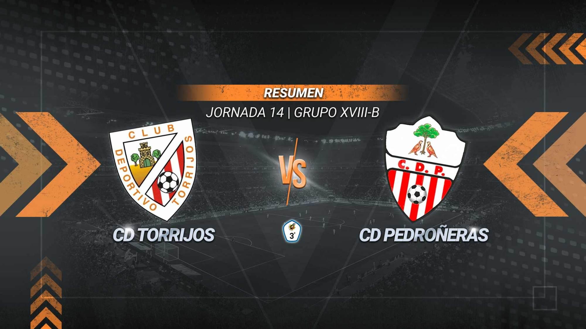El Torrijos escala posiciones y se coloca séptimo después de imponerse al colista con goles de Mario y Angelito. El Pedroñeras sigue colista una semana más con solo cuatro puntos en su casillero.