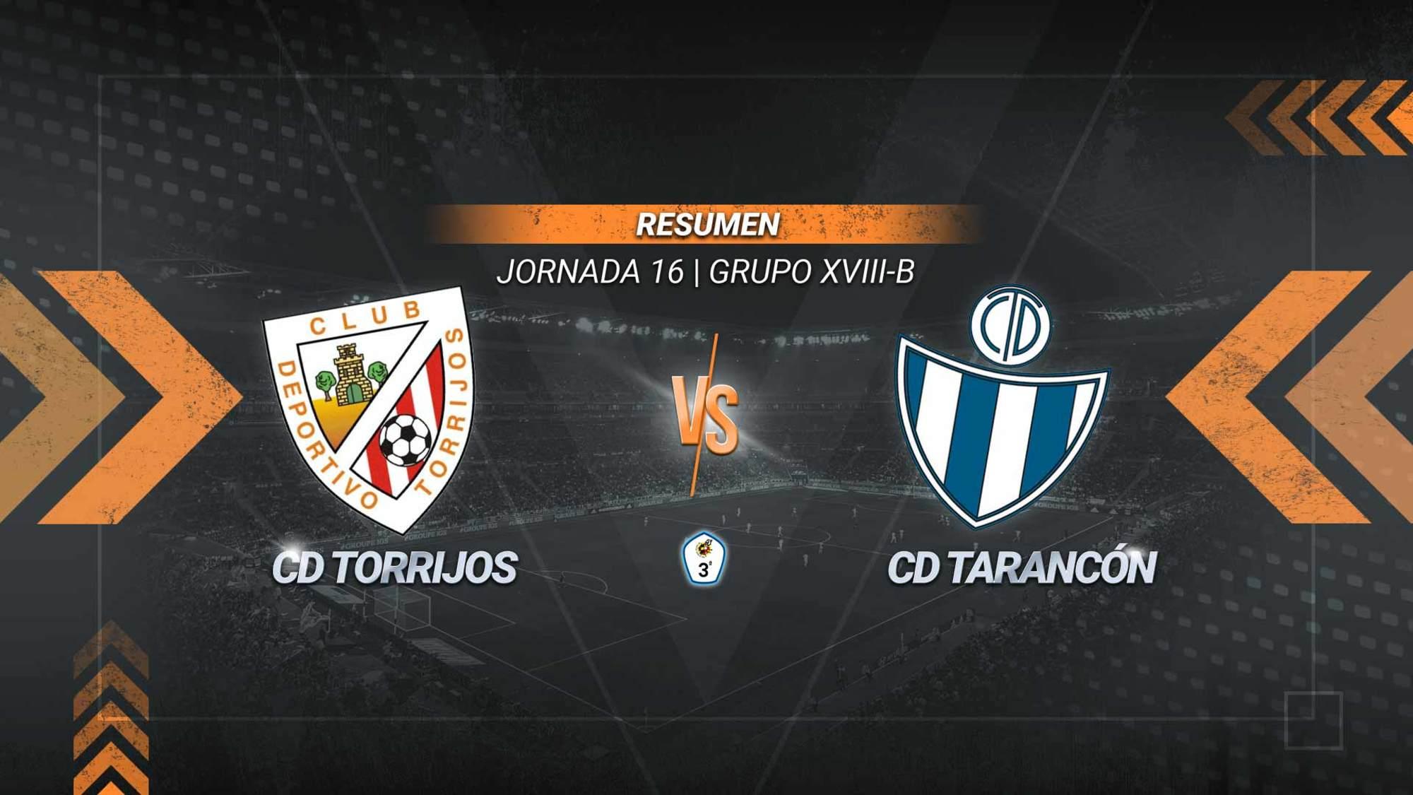 Reparto de puntos entre Torrijos y Tarancón en un partido en el que los locales se adelantaron con un gol de Pipistrelli y Cheki firmó el 1-1 definitivo.