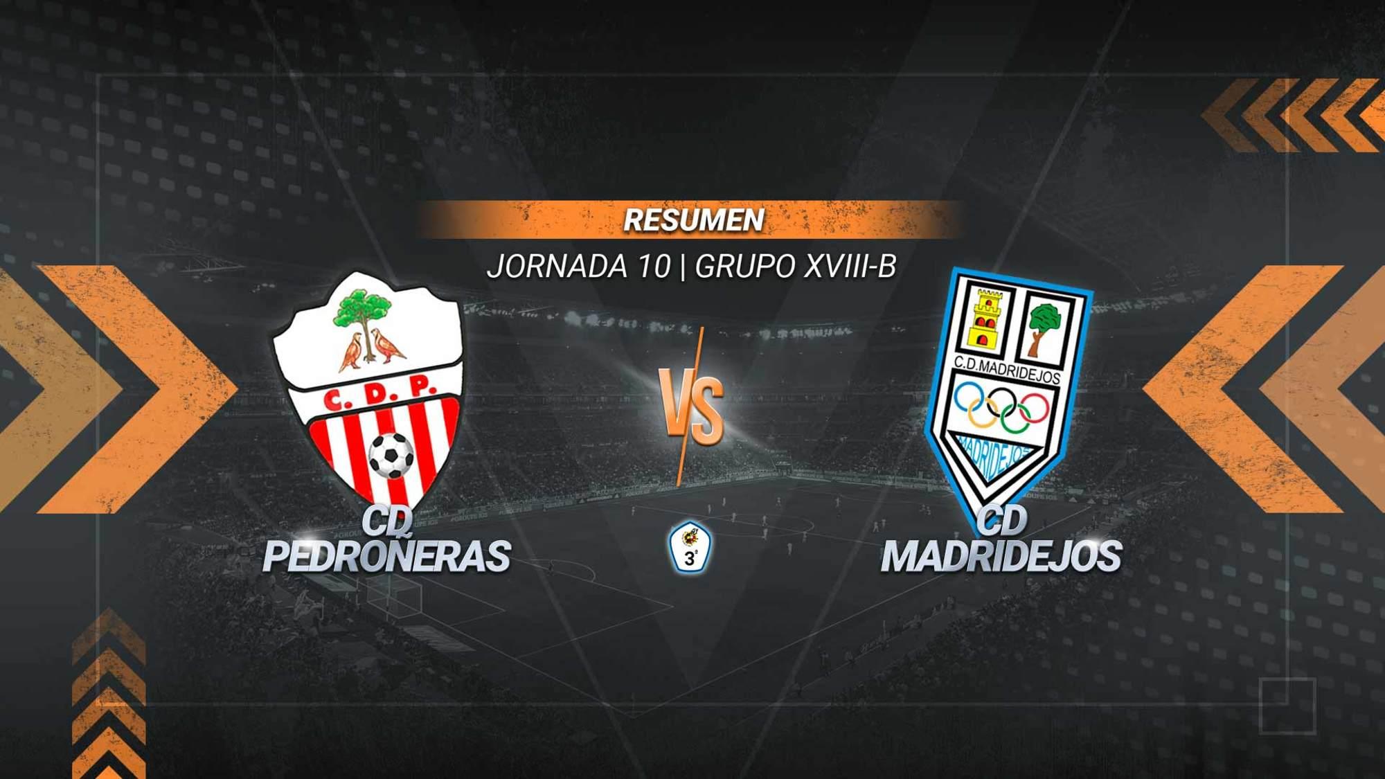 El Madridejos asalta Las Pedroñeras y logra la primera victoria de la temporada. Un gol de Xavi Pons permite a los madridejenses abandonar el puesto de colista, al que cae el Pedroñeras.