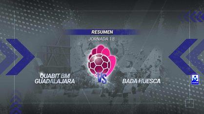 Un gol en los últimos segundos condena al Quabit Guadalajara en un final de locura. El tanto de Adrià Pérez le da el triunfo al Bada Huesca. El mejor en los alcarreños ha sido Gastón Mouriño con seis goles.