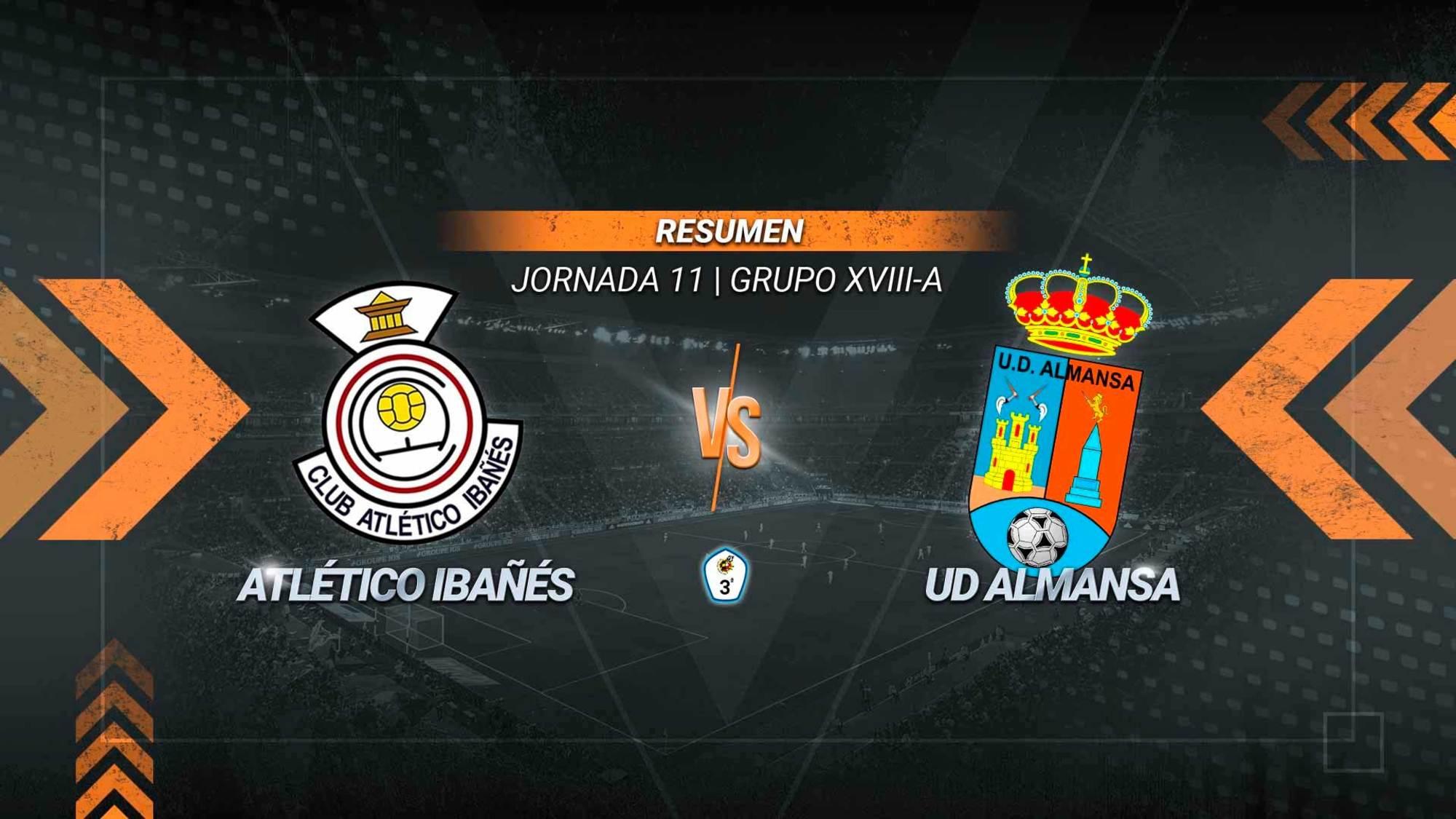 Carrasco aparece y el Atlético Ibañés se estrena en el Municipal. Su gol en el tramo final permite a los de Casas Ibáñez sumar el primer triunfo de la temporada en casa y alcanzar los 10 puntos. El Almansa se queda con 11.