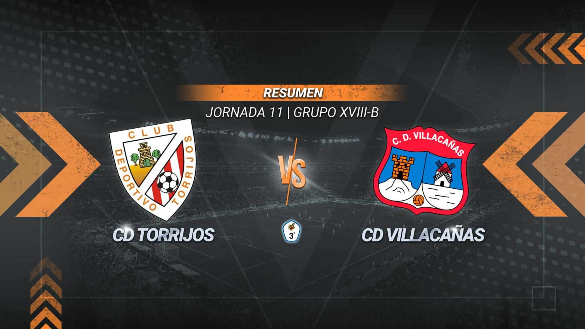 Empate entre Torrijos y Villacañas en un partido en el que los locales se adelantaron con un gol de Diego en los primeros minutos y Álex González firmó el 1-1 definitivo.