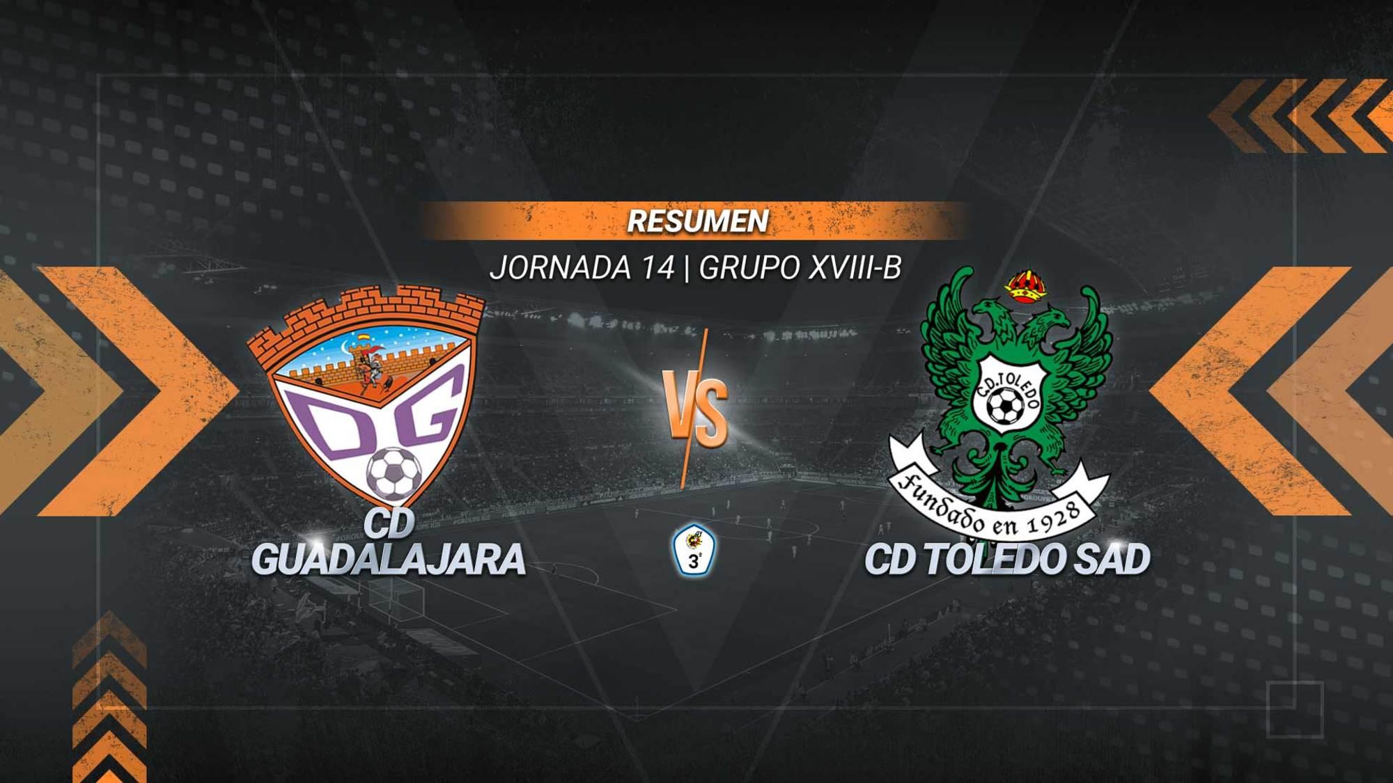 Joan Grasa y Ale Revuelta dan la victoria al Deportivo Guadalajara y mantienen al conjunto alcarreño a dos puntos del liderato. El Toledo se queda tercero y frena su inercia positiva después de encadenar tres victorias.